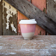 Ceramic Cups - Pretty in Pink