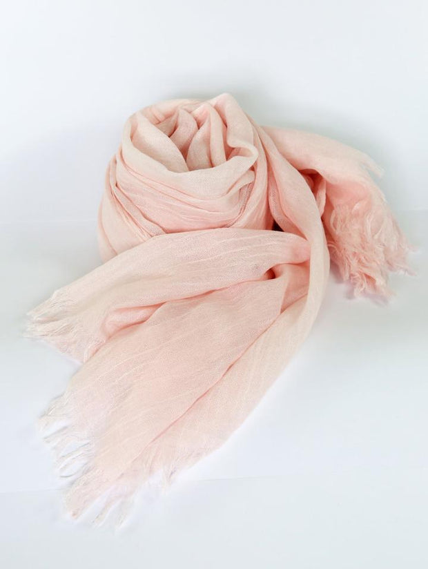 Womens Bamboo Scarf - Blush