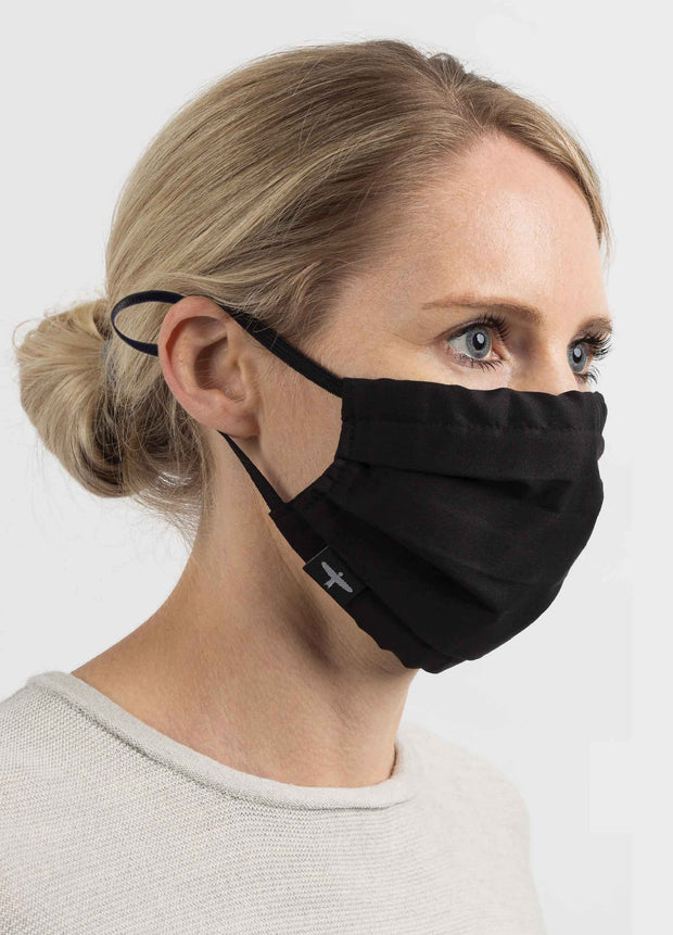 Adjustable Cotton Pleat Face Mask | Untouched World | Te Huia New Zealand