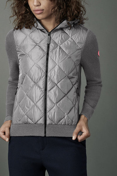 Womens HyBridge Quilted Knit Hoody Classic Disc
