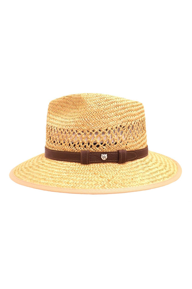 Indiana Jones Nante Straw with Leather Band-Hills Hats-Te Huia New Zealand
