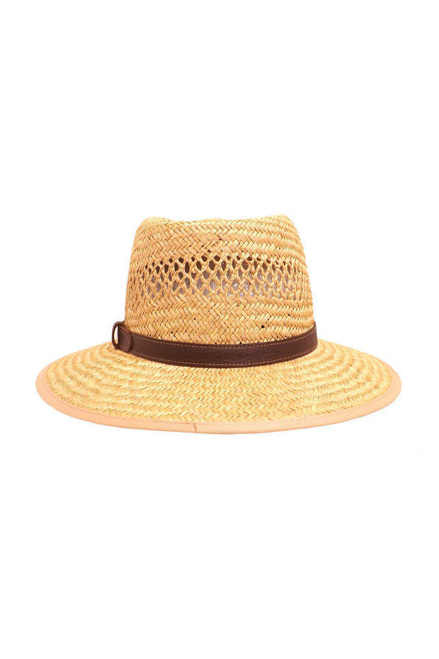 Hills Hats-Indiana Jones Nante Straw with Leather Band - buy online with www.tehuianz.com