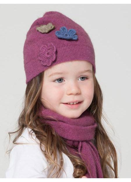 Possumdown-Kids Flower Beanie - buy online with www.tehuianz.com