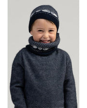 Kids Sheep Snood-Merinomink-Te Huia New Zealand