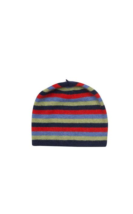 Kids Striped Beanie-Native World-Te Huia New Zealand