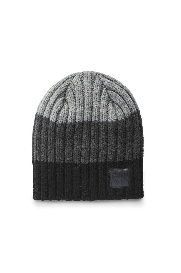 Canada Goose-Mens Block Rib Slouch Hat - buy online with www.tehuianz.com