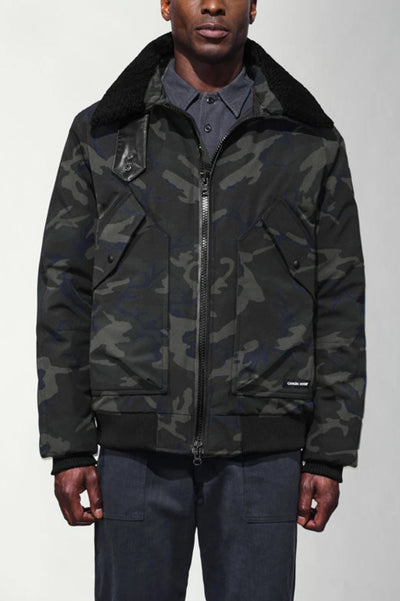 Mens Bromley Bomber Black Label-Canada Goose-Te Huia New Zealand
