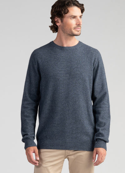 Mens Cassum Crew Sweater - Storm
