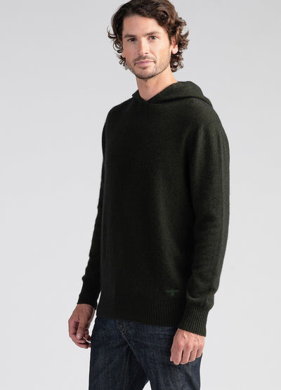 Mens Cassum Hoodie-Untouched World-Te Huia New Zealand
