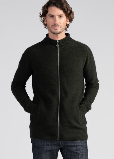 Mens Cassum Zip Jacket-Untouched World-Te Huia New Zealand