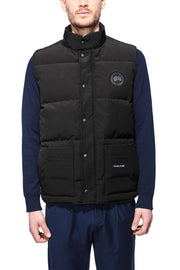 Mens Freestyle Crew Vest Black Label-Canada Goose-Te Huia New Zealand