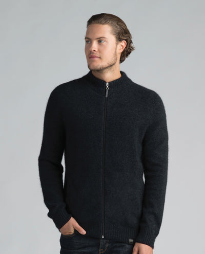 Mens Full Zip-Merinomink-Te Huia New Zealand