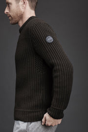 Mens Galloway Sweater Black Label-Canada Goose-Te Huia New Zealand