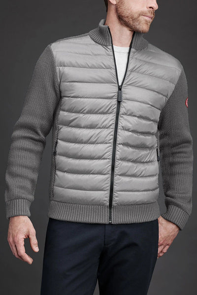 Mens HyBridge Knit Jacket Classic Disc-Canada Goose-Te Huia New Zealand