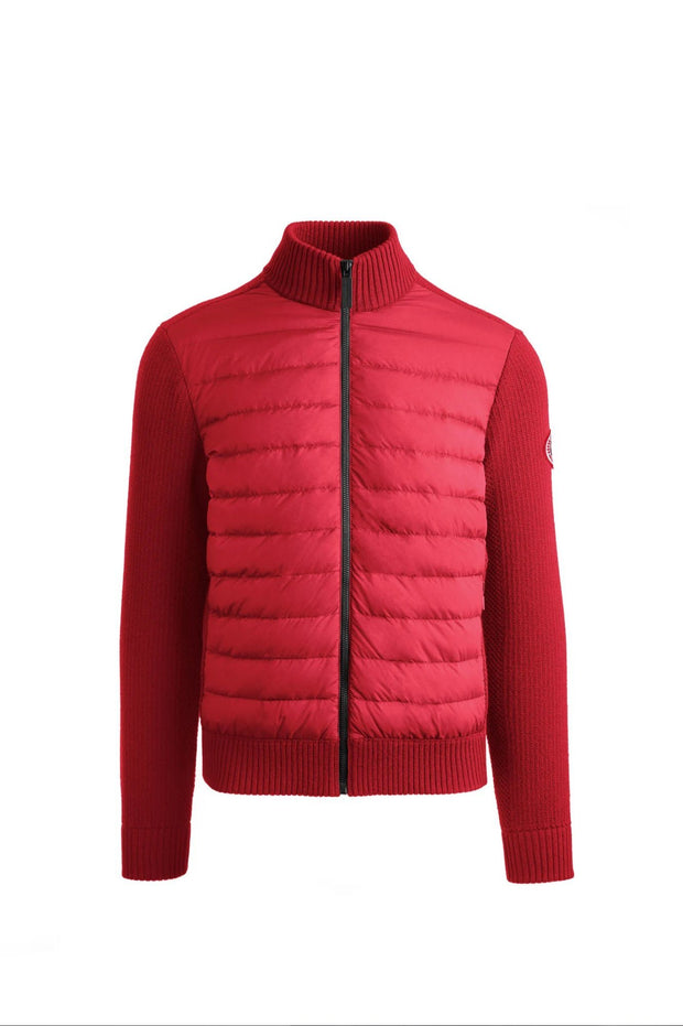 Canada Goose-Mens HyBridge Knit Jacket Classic Disc - buy online with www.tehuianz.com