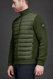 Mens HyBridge Knit Jacket Black Label-Canada Goose-Te Huia New Zealand