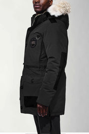 Canada Goose-Mens Macculloch Parka Black Label - buy online with www.tehuianz.com