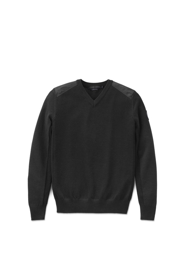 Canada Goose-Mens McLeod V Neck Sweater - buy online with www.tehuianz.com
