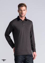 Mens Mountainsilk Everyday Polo-Untouched World-Te Huia New Zealand