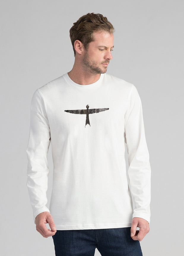 Mens Project U Long Sleeve Tee-Untouched World-Te Huia New Zealand