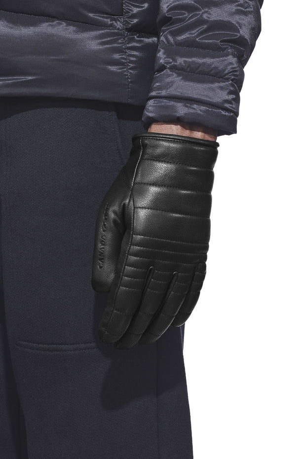 Mens Quilted Luxe Gloves-Canada Goose-Te Huia New Zealand