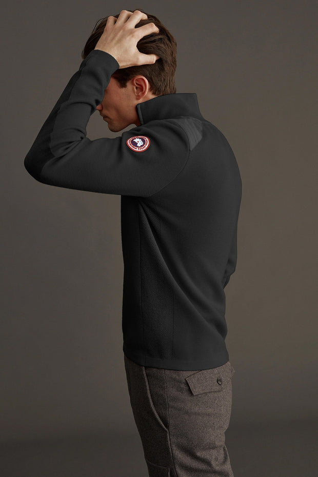 Mens Stormont 1/4 Zip Sweater-Canada Goose-Te Huia New Zealand