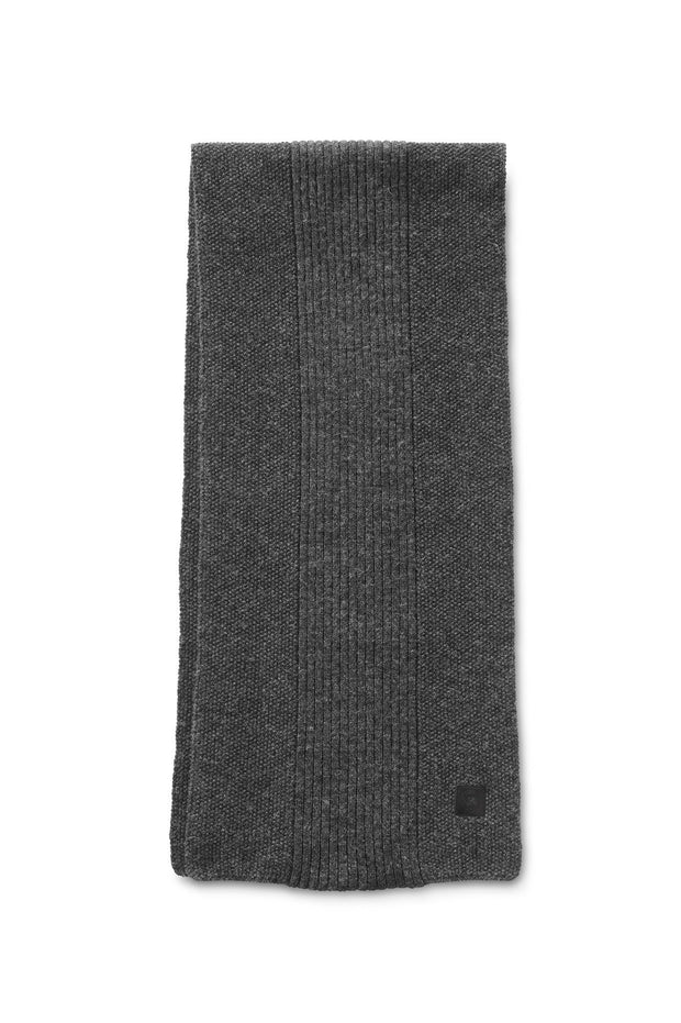 Mens Textured Knit Scarf-Canada Goose-Te Huia New Zealand