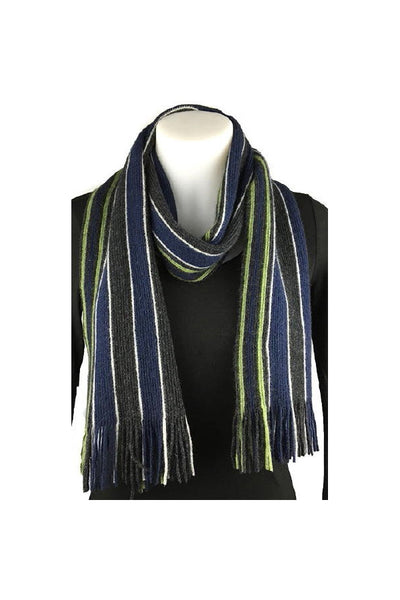 College Striped Scarf-Native World-Te Huia New Zealand