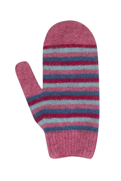 Kids Striped Mittens-Native World-Te Huia New Zealand
