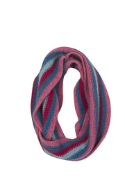 Kids Striped Loop Scarf-Native World-Te Huia New Zealand