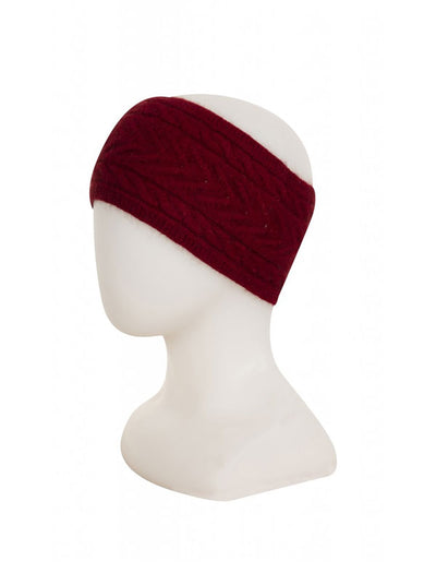 Womens Cable Headband-Native World-Te Huia New Zealand