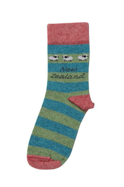 Kids Sheep Socks-Native World-Te Huia New Zealand