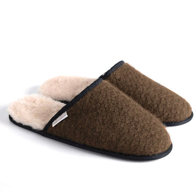 Womens MM House Slippers - Pebble