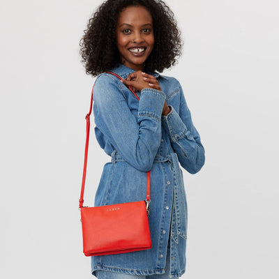 Tilly's Big Sis Crossbody Bag - Scarlet
