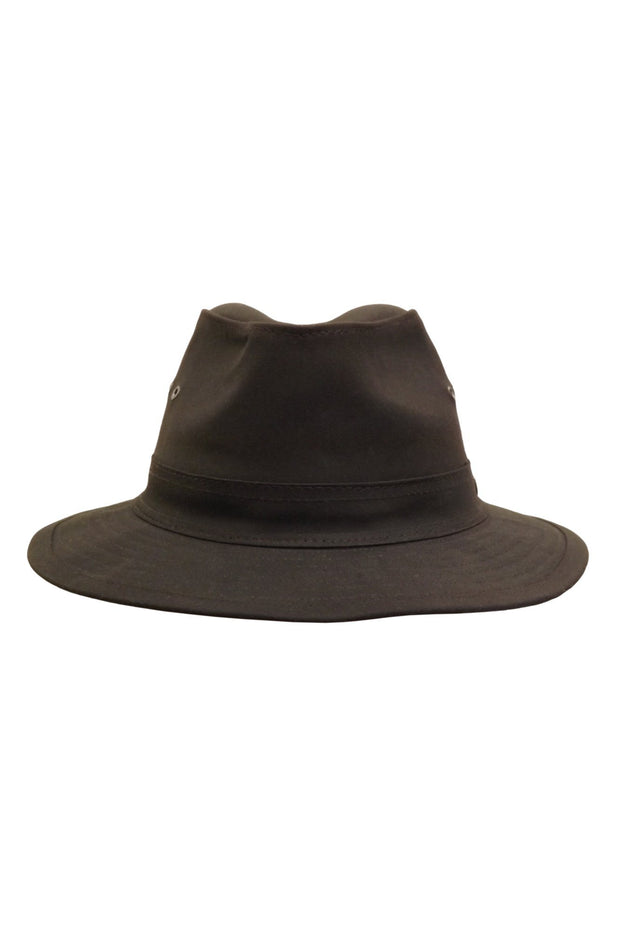 Hills Hats-The Milford - Oilskin - buy online with www.tehuianz.com