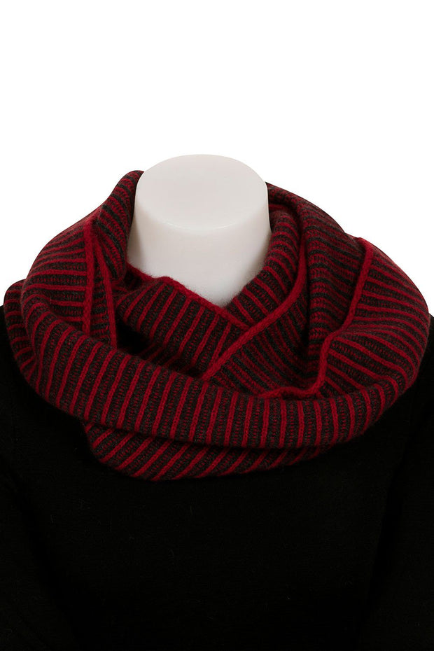Native World-Unisex Brioche Stitch Loop Scarf - buy online with www.tehuianz.com