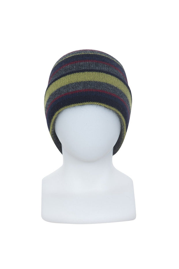 Native World-Unisex Stripe Beanie - buy online with www.tehuianz.com