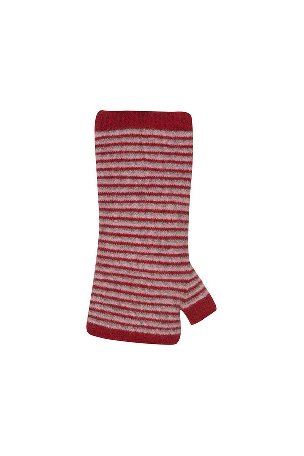 Stripe Wristwarmer-Native World-Te Huia New Zealand