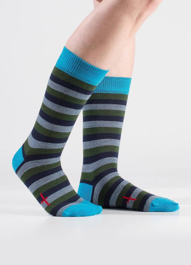 Unisex Top Drawer Socks-Untouched World-Te Huia New Zealand