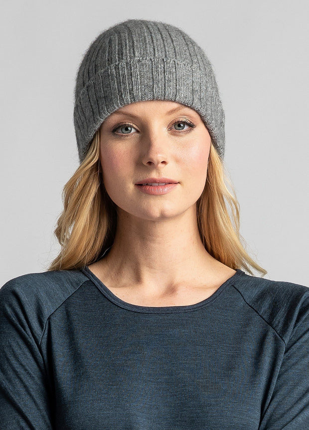 Unisex UW Rib Beanie-Untouched World-Te Huia New Zealand