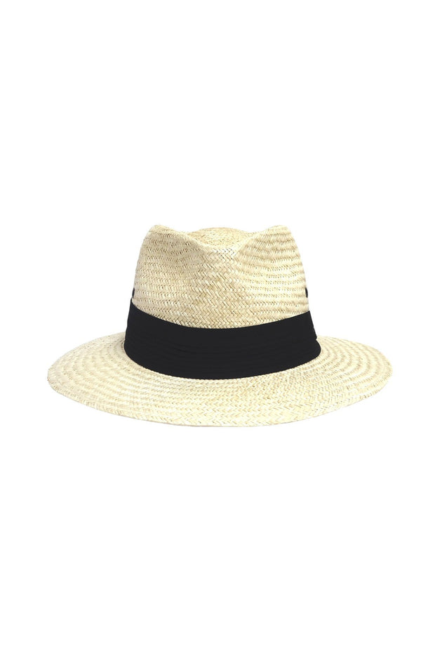 Wide Brim Palm Straw-Hills Hats-Te Huia New Zealand