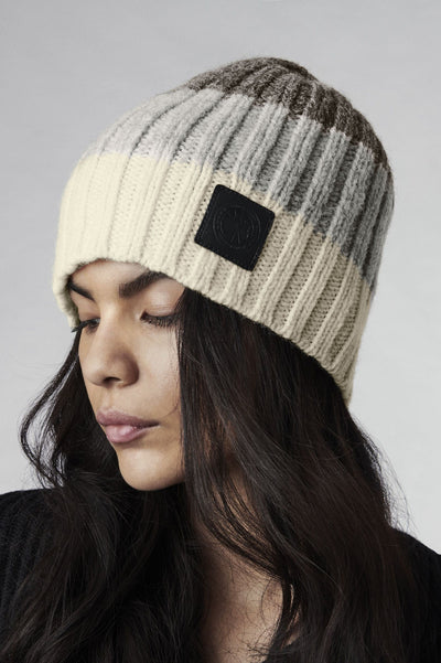 Womens Block Rib Slouch Hat-Canada Goose-Te Huia New Zealand