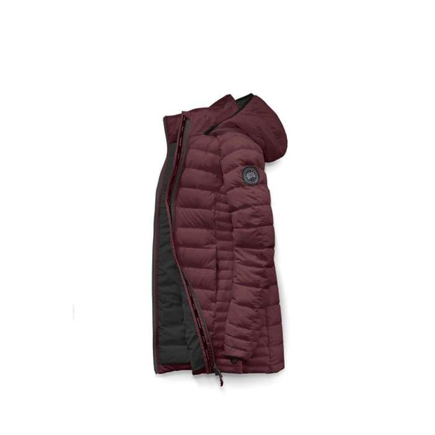 Womens Brookvale Hooded Coat Black Label-Canada Goose-Te Huia New Zealand