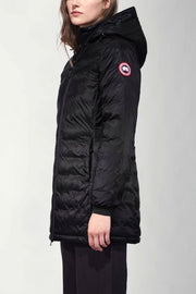 Womens Camp Hooded Coat-Canada Goose-Te Huia New Zealand