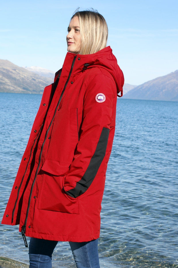 Canada Goose-Womens Canmore Parka - buy online with www.tehuianz.com