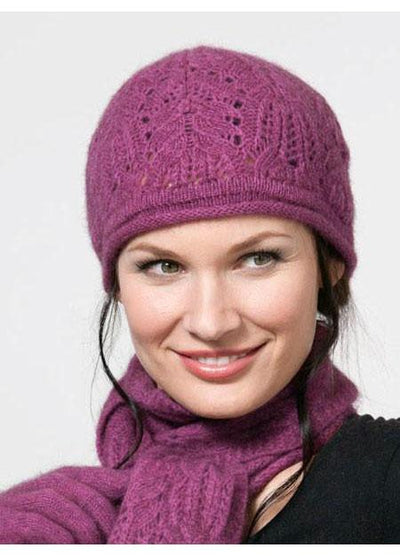 Womens Chunky Cable Beanie-Possumdown-Te Huia New Zealand