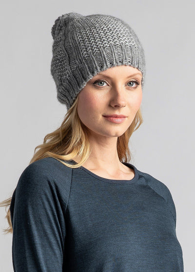 Womens Chunky Pom Pom Beanie-Untouched World-Te Huia New Zealand