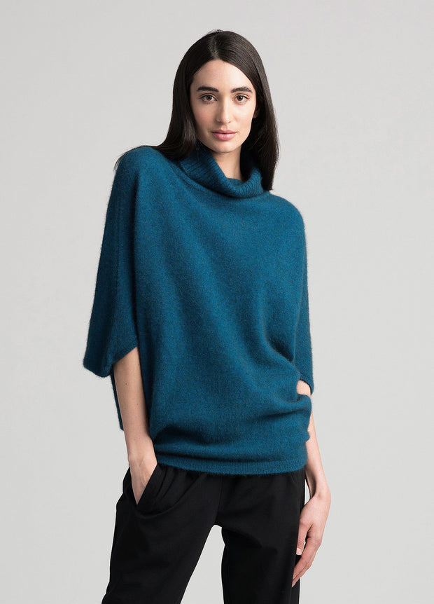 Womens Air Cape Sweater - Crevasse-Untouched World-Te Huia New Zealand