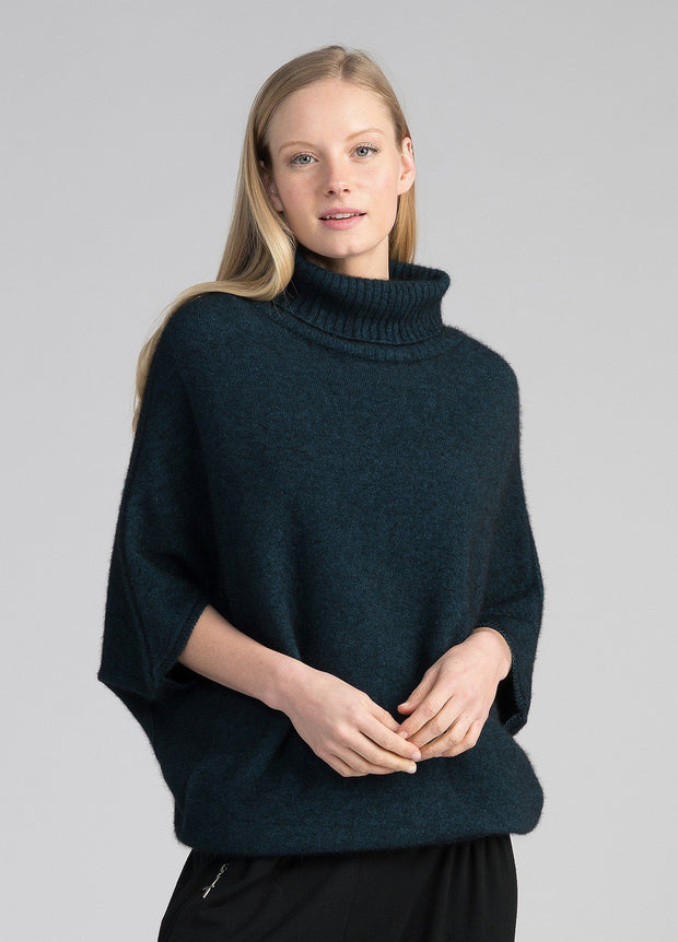 Womens Air Cape Sweater-Untouched World-Te Huia New Zealand