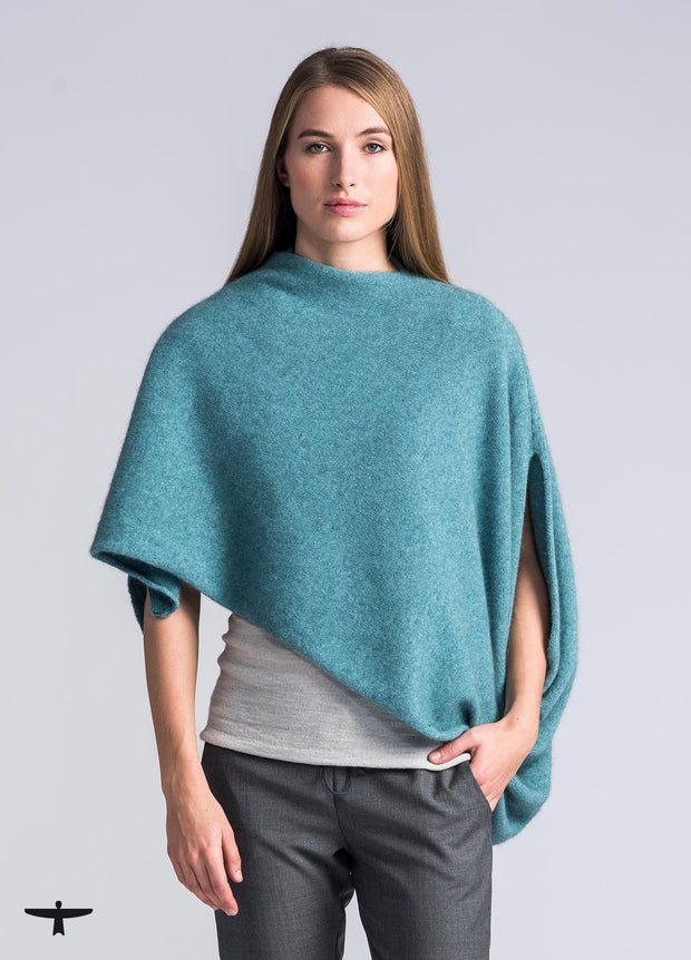 Womens Kahukura Wrap - Mist-Untouched World-Te Huia New Zealand